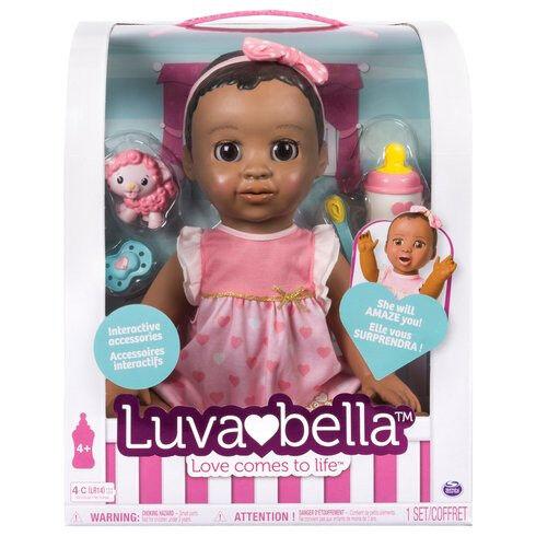 luvabella african american doll BNIB