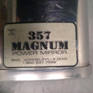 Magnum Power Mirror  357