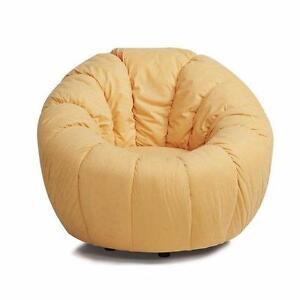 Lara Swivel Pumpkin Papasan Chair by Latitude Run NEW