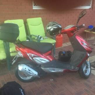 50cc Adly Moto Scooter $995 279KM (Gen) 2008 Karrinyup Stirling Area Preview