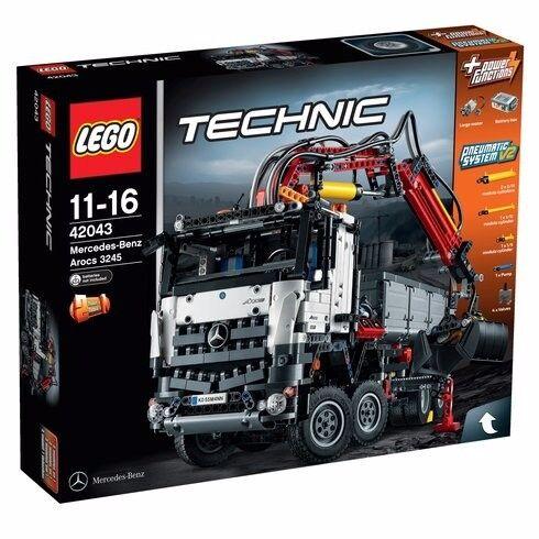 LEGO 42043 Technic Mercedes-Benz Arocs brand new