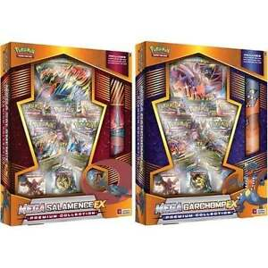 Mega Garchomp & Salamence EX Premium Collction Now Available