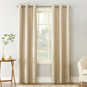 Beige Urban Barn Curtain or Drapes - two panels