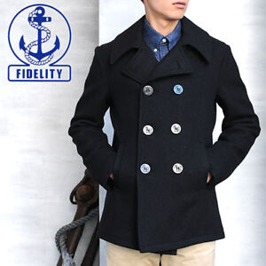 "Fidelity Peacoat/Jacket size M ""Brand New"""