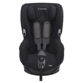 2 x maxi cosi axiss car seat black