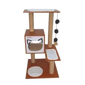 """New Purrrfect Life 37"""" Cat Tree (MSRP $156), PICKUP ONLY - DI6"""