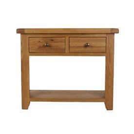 Wayfair - Torino Console Table in oak rrp £215