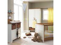 Issiwotnot vanilla nursery bedroom furniture