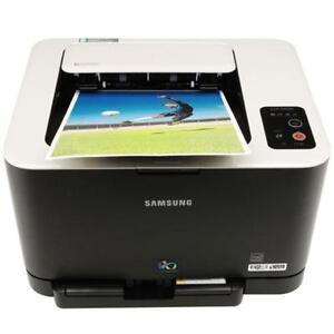 Samsung CLP-325W color laser printer with 4 new toner modules