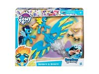 My Little Pony Guardians of Harmony Spitfire and Soarin Action Pack.Brand new