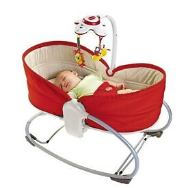 Tiny love 3 in 1 crib/rocker