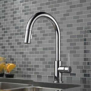 New!! - Delta Handle Pull-Down Kitchen Faucet