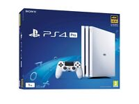 xxx almost new PS4 Pro White and Extras xxx
