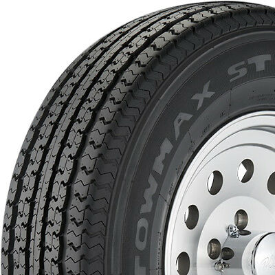 4 New ST205/75-15 Towmax STR II 6 Ply C Load Radial Trailer Tires 2057515