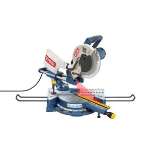 "10"" SLIDING COMPOUND MITER SAW/LASER - $180 SOLD"