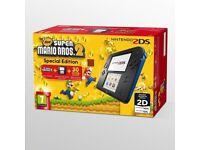 Nintendo 2ds super mario speciel edition