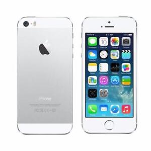 iPhone 5 16GB Silver UNLOCKED ( including Freedom / Chatr ) 7/10 condition $120 FIRM