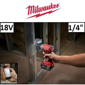 "NEW OB MILWAUKEE 18V IMPACT DRIVER - 115068569 - M18 FUEL BRUSHLESS 1/4"" HEX CORDLESS ONE KEYOPEN BOX"