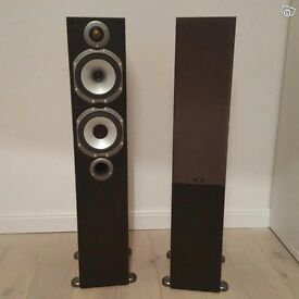 Monitor Audio Bronze BR5 speakers with boxes, bungs, bi-wire terminal links etc fantastic condition