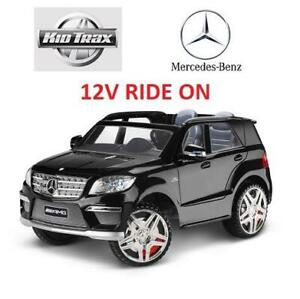 USED* KIDTRAX MERCEDES GI RIDE ON 04KT1222COI 257454013 12V POWERED RIDE ON GI 63 SUV CAR KIDS