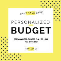Personalized Budget Plan - Wedding Budget - Saving Plan