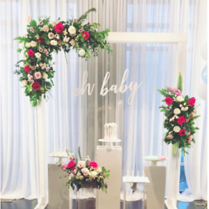 Wedding Decor⎜White Arch⎜Arch-Stands