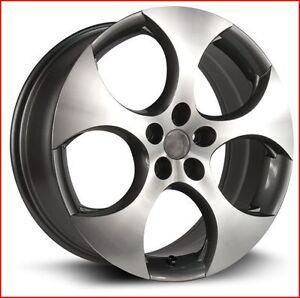 Roues (Mags) 4 saisons RTX OE modèle GTI 18 pouces 5-112 (volks)