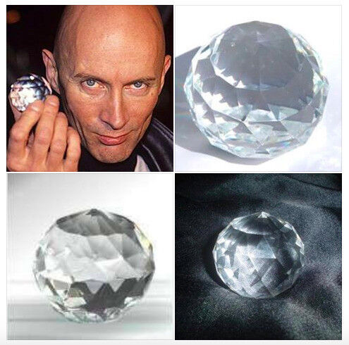 The Crystal Maze Crystal Ball Richard Obrien TV Game Show Collectable 90s Game Show