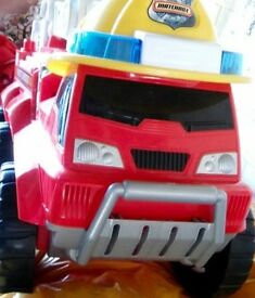 Large Fire Truck with storage
