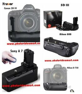Battery Grip for 5D IV/5Ds  III/D800/D750/SonyA7RII/ A7II