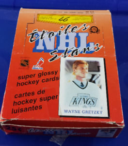 1988-89 O-Pee-Chee NHL Stars Mini Hockey Cards Box (48 Packs)