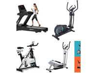 Wanted Treadmill/cross trainer/spin bike