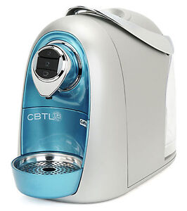 CBTL KALDI S04 SIngle Cup Coffee Pod Brewer - Aquamarine Blue