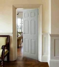 (NEW) DOOR INCLUDING HANDLE SET