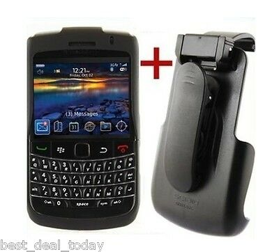 OEM Seidio Surface Case Holster Combo For Blackberry Bold II 2 9700 9780 Black