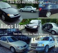 Autos Lito ! Pour les meilleurs prix !!!