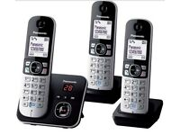 Decent Panasonic Trio DECT Cordless Digital Telephone with INSTRUCTIONS for £38, SW London