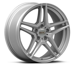 Roues (Mags) 4 saisons RTX OE Stern argent - Mercedes-Benz