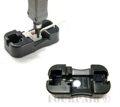 Keystone Jack Punch Down Stand Holder for 110 Blade Wire Cable Tool RJ45 (Punch Down Tool Blade)