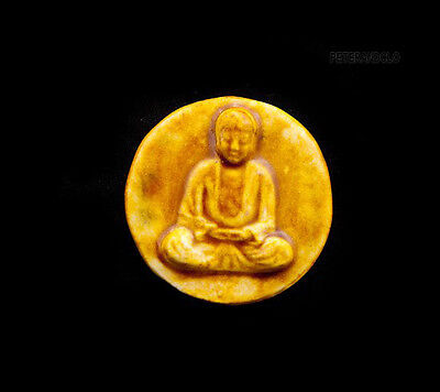 Pendant Of Buddha Position Lotus Ceramic Buddha Creation Craft 8794