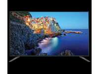 "Bauhn 40"" inch 4K UHD LED Full HD Tv + Freeview COLORS HD Indian Channel"