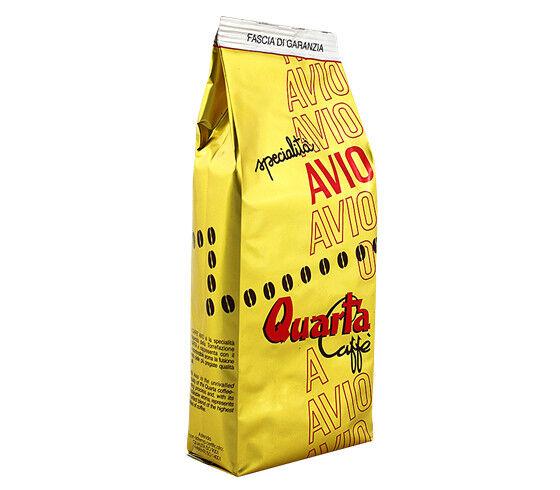 CAFFE' QUARTA AVIO ORO MACINATO confezioni 250gr il caffè salentino salento