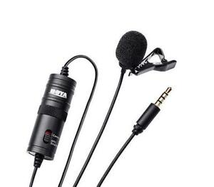 Lavalier High Quality Microphone (BOYA BY-M1) ON SALE - $49 Brand New!