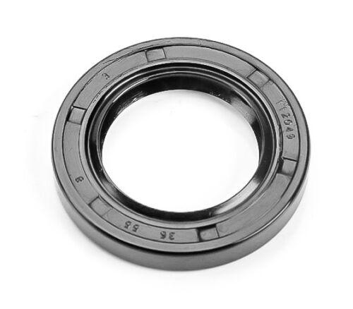 EAI Metric Oil Shaft Seal 35x55x8mm Dust Grease Seal TC Double Lip w/ Spring