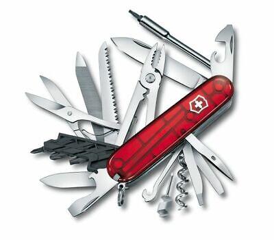 *BRAND NEW* Victorinox Swiss Cyber Tool 41 Medium Red Pocket Knife 1.7775.T