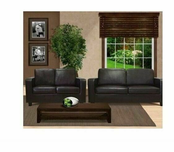 BEST QUALITY🌌- BRAND NEW 3+2 SEATER LEATHER SOFA AVAILABLE
