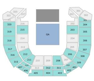 Hilltop Hoods Tickets Seated x 2 S314