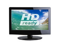 "16"" LED HD TV with Built-in DVD player + Freeview"