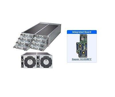 *NEW* Supermicro SYS-F618R3-FTL 4U Server - 8 Hot-plug System Nodes