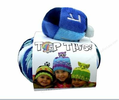 DMC Dreidel Top This! yarn kit -with free pattern